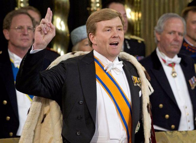Король Нидерландов рассказал о своей тайной работе