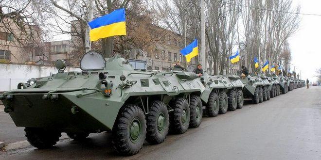 Украинскую армию обеспечили новым оружием, техникой и боеприпасами