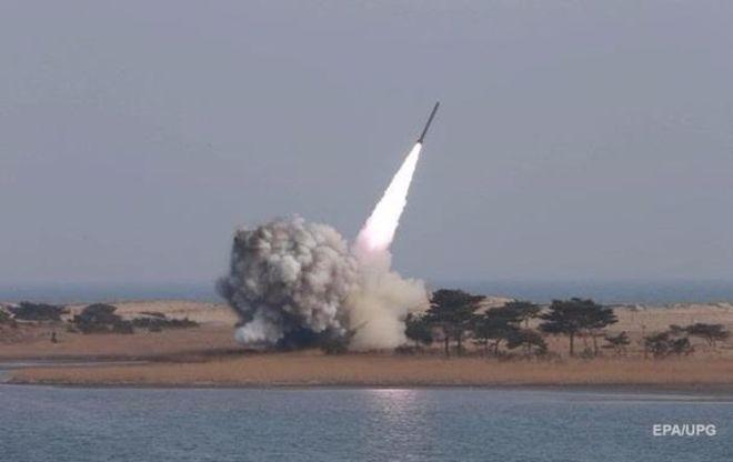 Северная Корея осуществила пуск новой ракеты