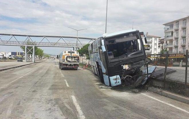 В Турции произошло очередное ДТП с автобусом, есть пострадавшие