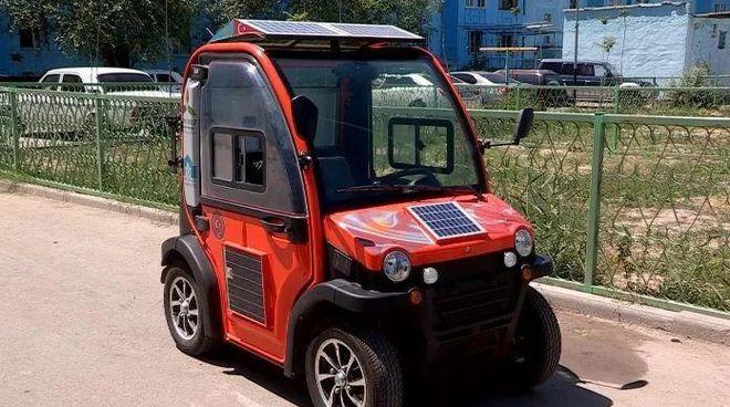 В Казахстане создали бюджетный электромобиль
