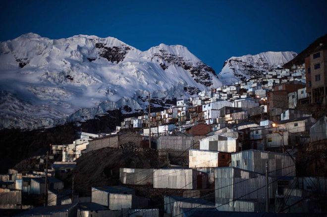 Фотографы показали самый высокий город в мире