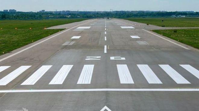 """В аэропорту """"Жуляны"""" завершились ремонтные работы"""