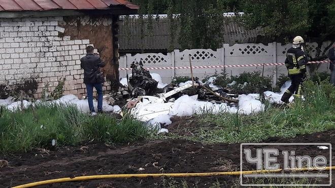 В Черниговской области разбился самолет: есть жертвы