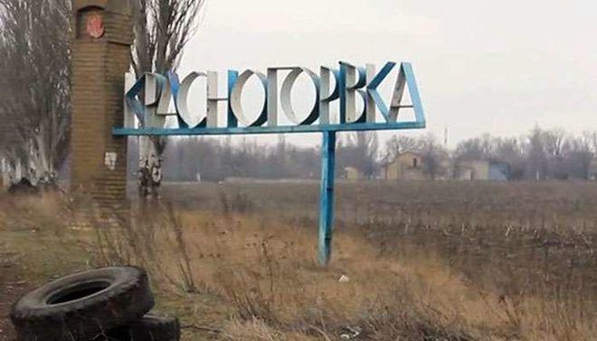 После обстрелов боевиков на Донбассе, горит школа и началась эвакуация больницы