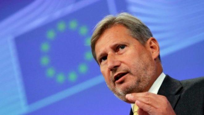 В Украину едет еврокомиссар