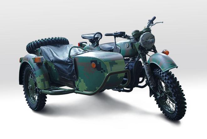 В Киеве представили прототип боевого мототицкла