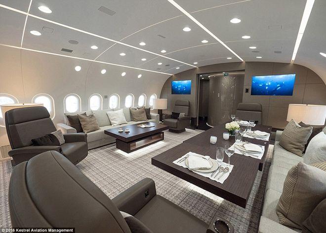 Boeing превратили в летающий пентхаус
