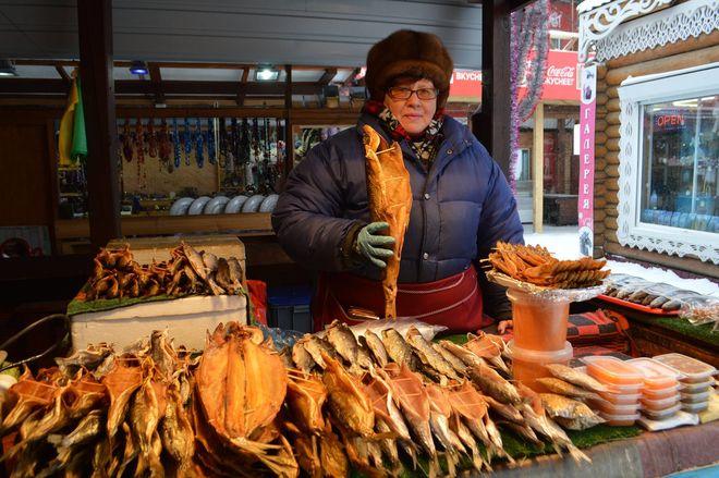 В Киеве запретили продавать рыбу