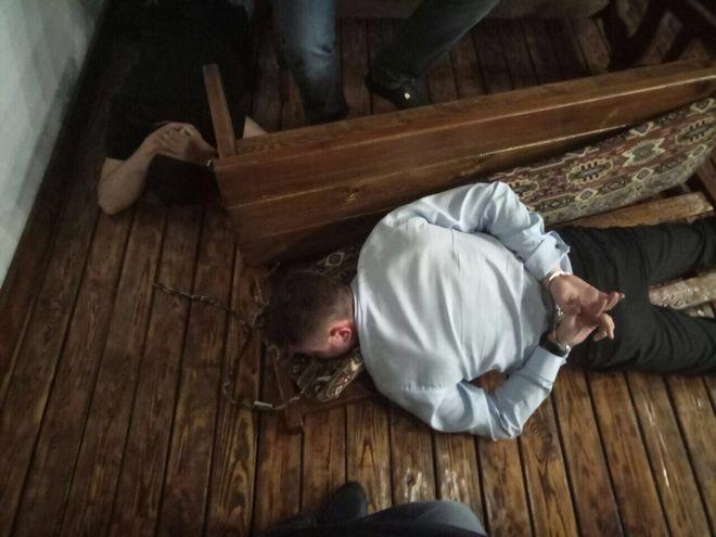 Украинский полисмен организовал похищение бизнесмена в Россию