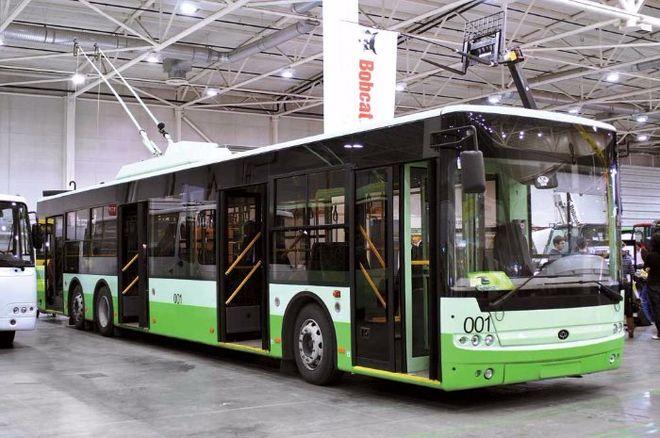 Киев потратит полмиллиарда на новые троллейбусы