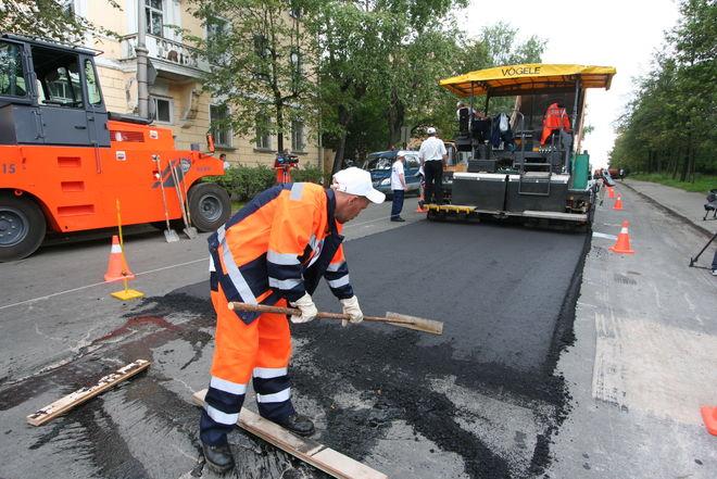 Где в Киеве больше всего ремонтируют дороги