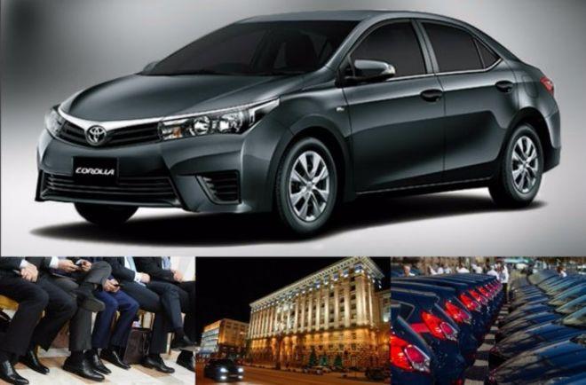 Киевским чиновникам закупят новые японские автомобили