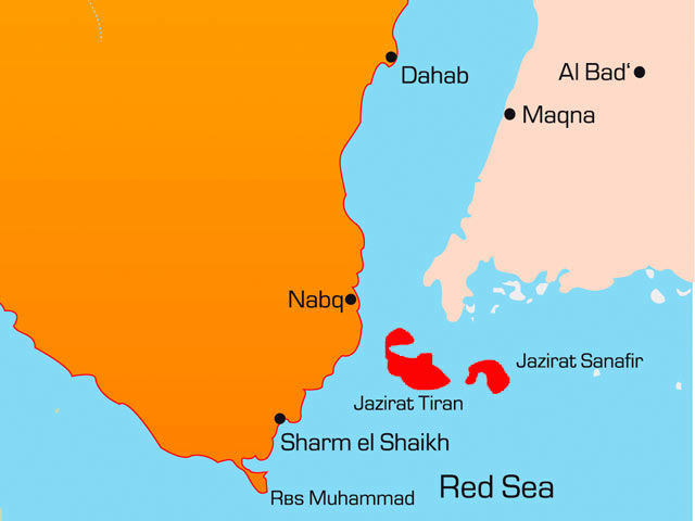 Египет отдал Саудовской Аравии часть своей территории