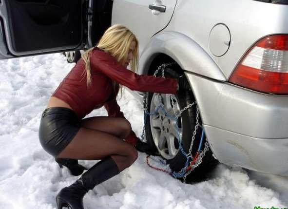 Украинских водителей обяжут пользоваться сезонными шинами