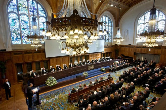 Суд ООН в Гааге опубликовал график по иску Украины к РФ