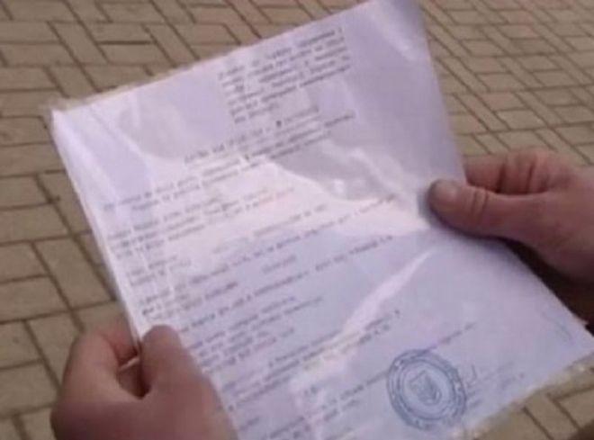 В Киев ввозили иномарки по поддельным документам переселенцев