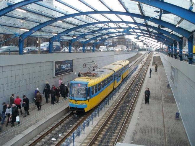 В Киеве продлят Борщаговскую линию скоростного трамвая