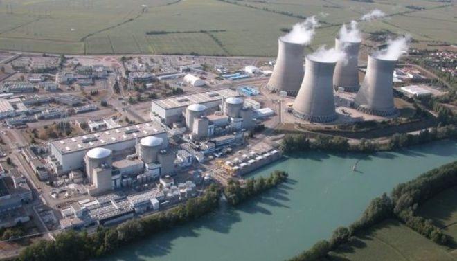 Во Франции горела крыша ядерного реактора