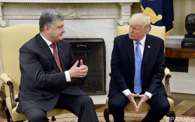 Порошенко прокомментировал свою встречу с Трампом