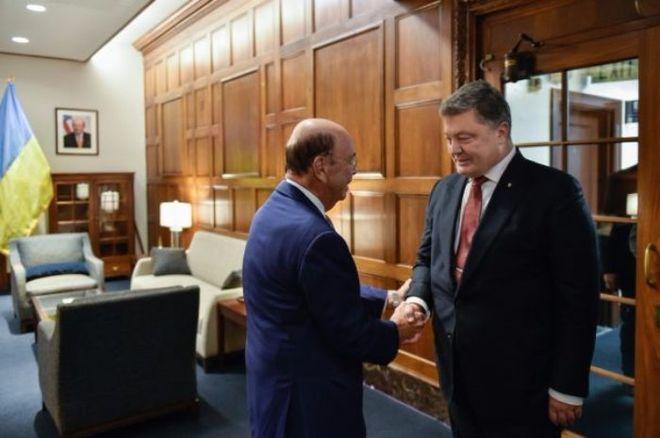 Порошенко провел встречу с министром торговли США: о чем говорили