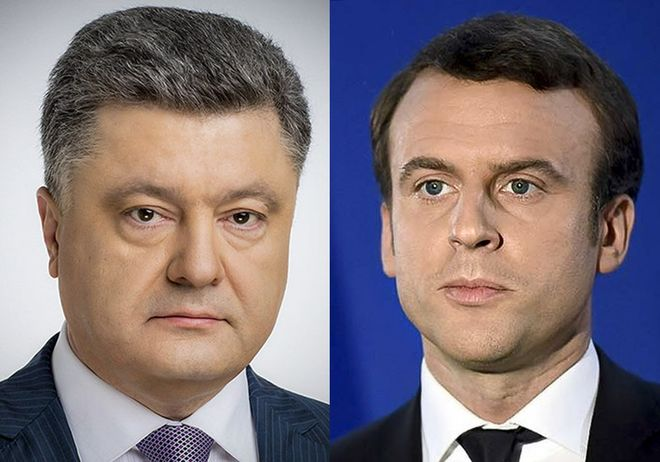 26 июня Порошенко встретися с Макроном