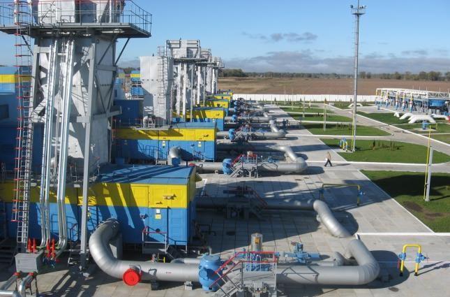 Закачки газа в ПХГ Украины увеличились втрое