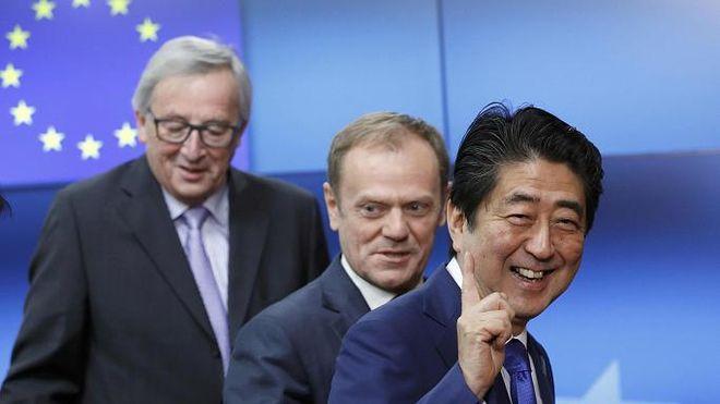 Япония и Евросоюз создадут зону свободной торговли