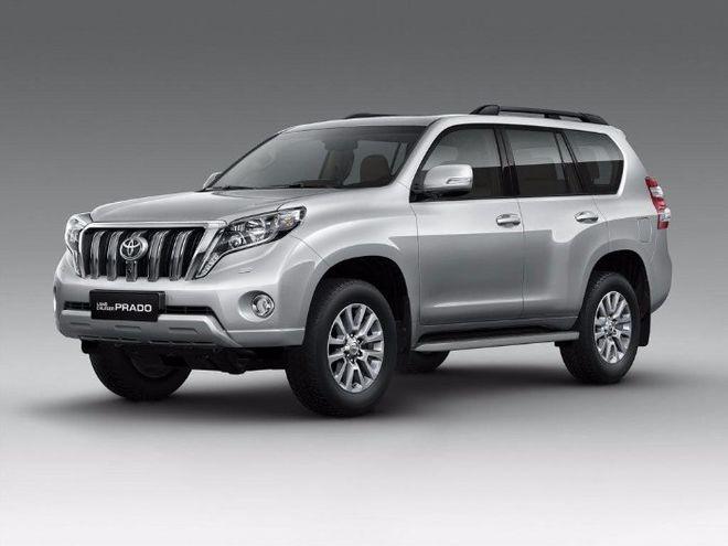 В Сети рассекретили обновленный внедорожник Toyota Land Cruiser Prado