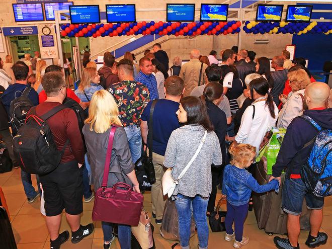 Аэропорт «Борисполь» обслужил рекордное количество пассажиров