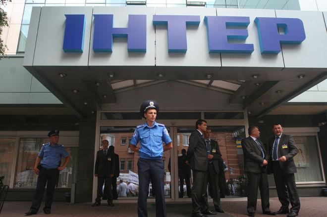 В Киеве могут отключить телеканал «Интер»