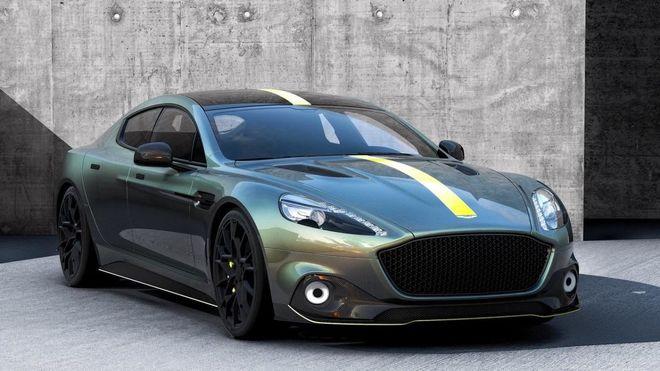 В сеть попали первые фото электромобиля Aston Martin