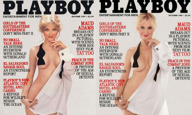 Playboy воссоздал свои знаменитые обложки