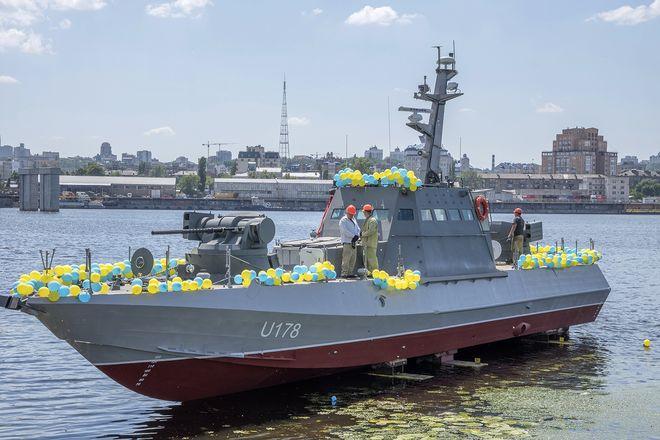 ВМС Украины получили новый бронированный катер с пушкой, пулеметом и ракетами