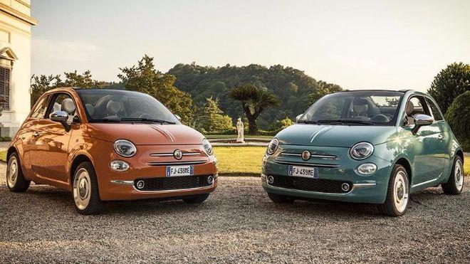 Fiat выпустил юбилейную версию компактной модели 500