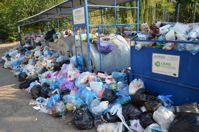 Во Львове уже очистили 70% мусорных площадок