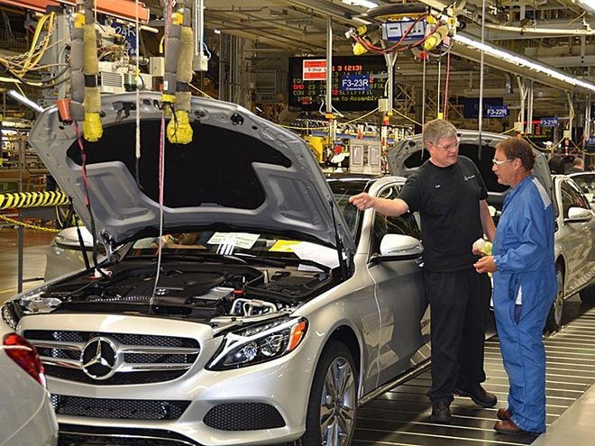 В Украине открывают производство запчастей для Merсedes-Benz