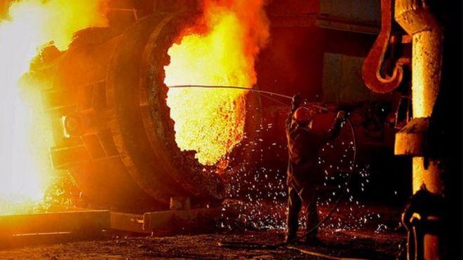 Украина существенно снизила выплавку стали