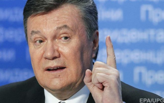 Янукович подал иск против Ощадбанка