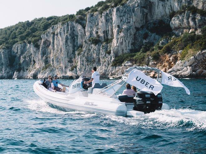 Uber запускает водное такси в Хорватии
