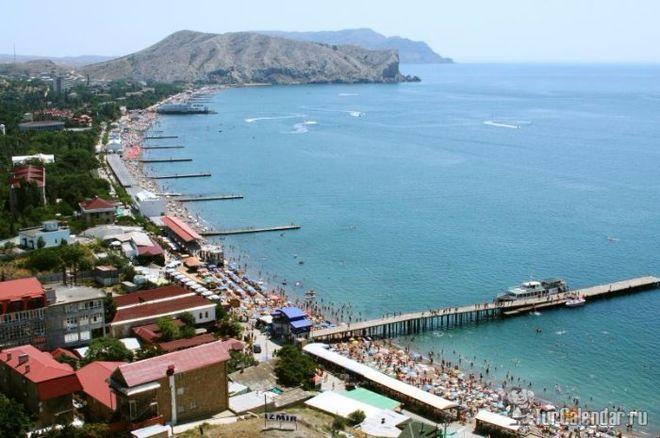 В России подсчитали количество отдыхающих в Крыму туристов