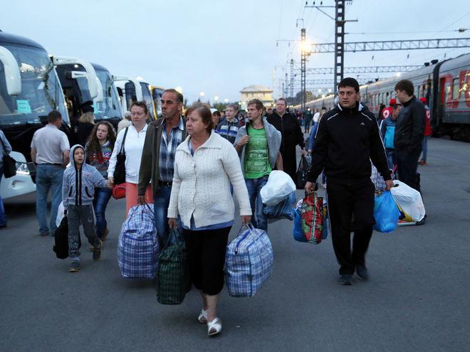 Украинские заробитчане стали реже ездить в РФ