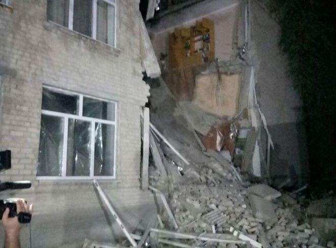 В Николаевской области обрушилась школа