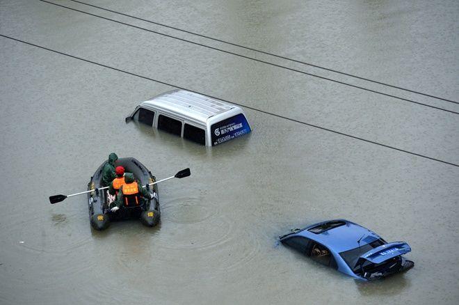 Китай оказался под водой