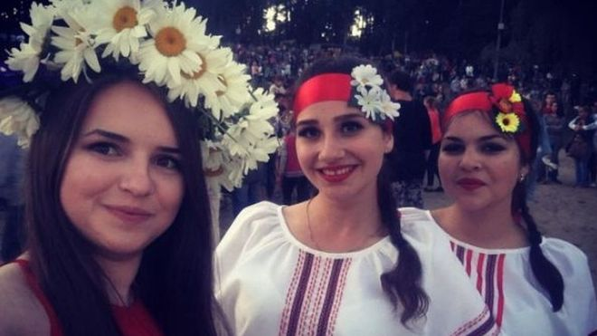 Украинцы отпраздновали Ивана Купала