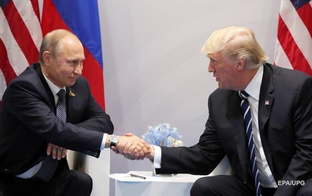 Трамп рассказал о чем говорил с Путиным