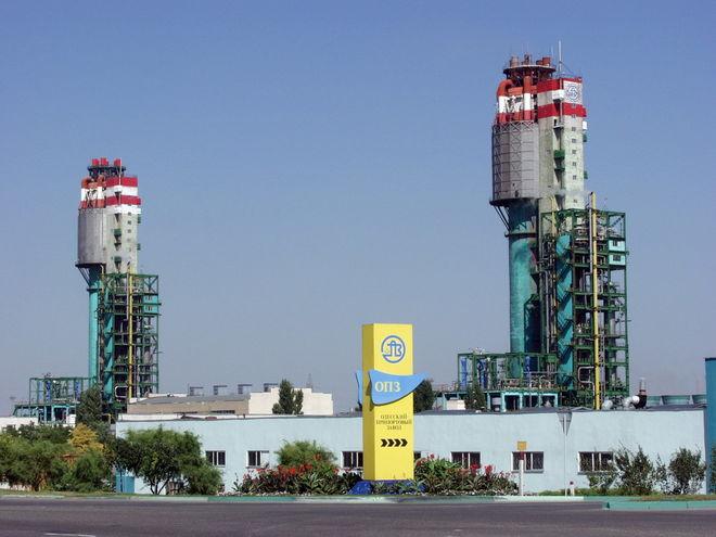 ОПЗ остановит производство аммиака и карбамида