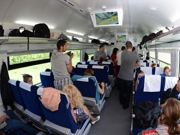 Украинцы стали чаще путешествовать скоростными поездами