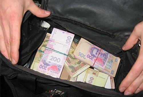 У мужчины в центре Киева украли сумку с полумиллионом гривен