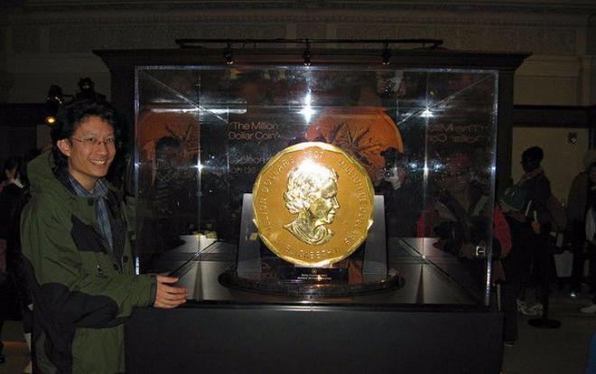 В Берлине задержали похитителей 100-килограммовой монеты